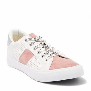Vintage Havana fashion sneakers in blush